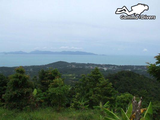 Lamai beach from viewpoint
