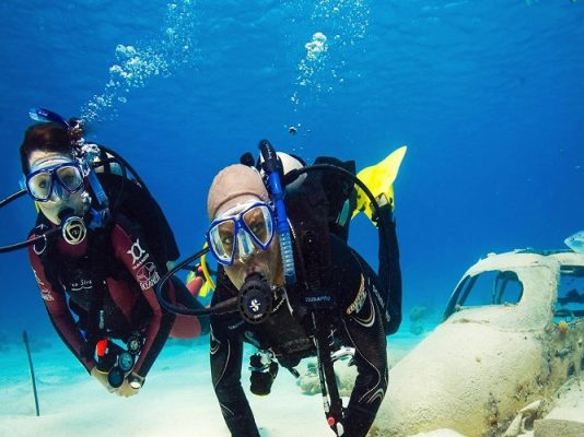 دوره غواص ارشد master scuba diver